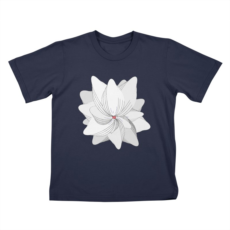 The Flower of my Heart Kids T-Shirt by rouages's Artist Shop