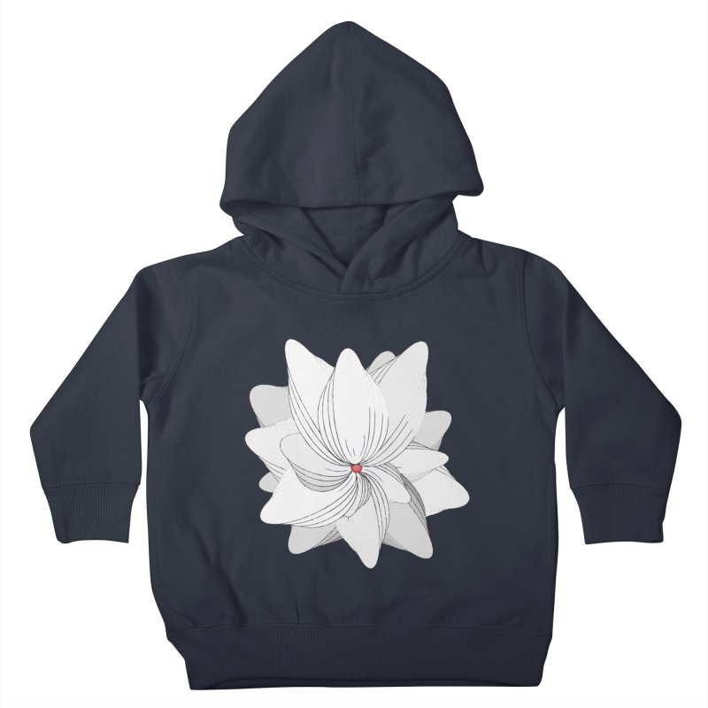 The Flower of my Heart Kids Toddler Pullover Hoody by rouages's Artist Shop