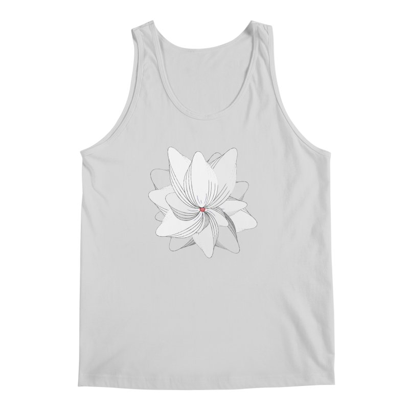 The Flower of my Heart Men's Regular Tank by rouages's Artist Shop