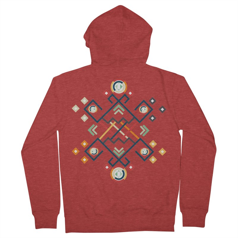 Back to the Roots Women's French Terry Zip-Up Hoody by rouages's Artist Shop