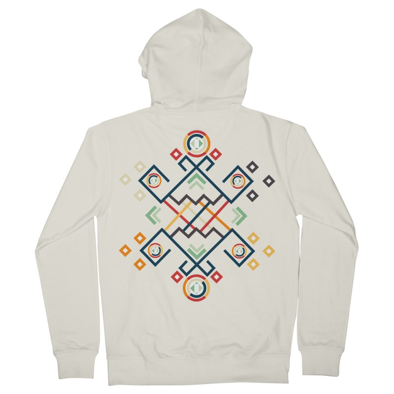Back to the Roots Men's French Terry Zip-Up Hoody by rouages's Artist Shop