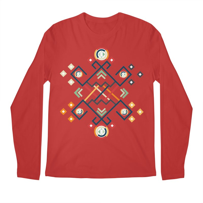 Back to the Roots Men's Regular Longsleeve T-Shirt by rouages's Artist Shop