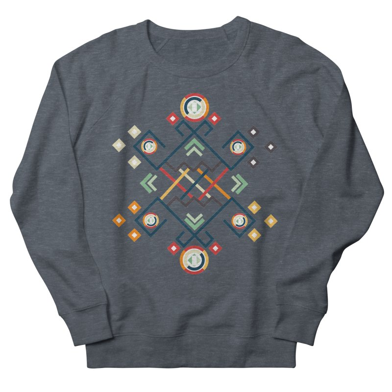 Back to the Roots Men's French Terry Sweatshirt by rouages's Artist Shop