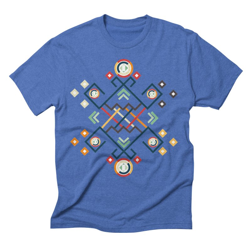 Back to the Roots Men's Triblend T-Shirt by rouages's Artist Shop