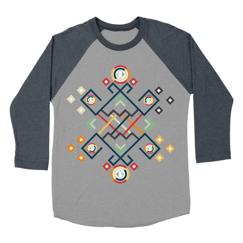 Back to the Roots Men's Baseball Triblend Longsleeve T-Shirt by rouages's Artist Shop
