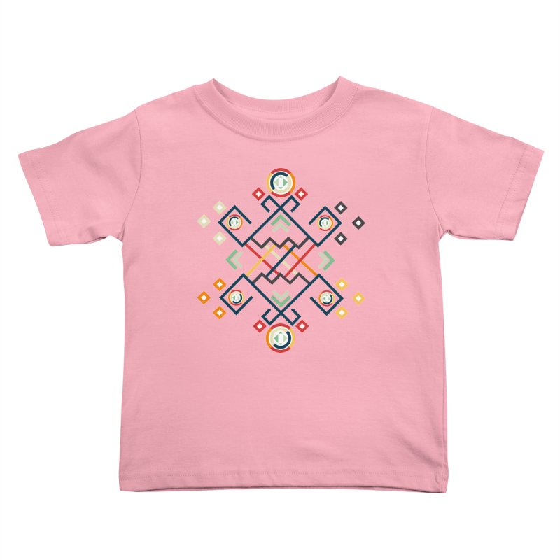 Back to the Roots Kids Toddler T-Shirt by rouages's Artist Shop