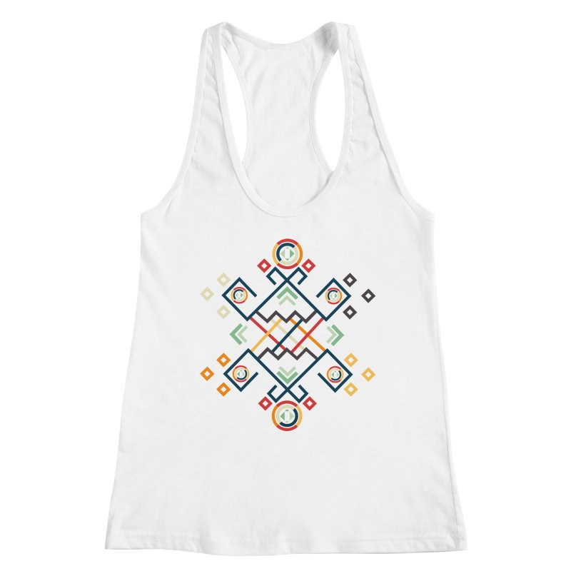Back to the Roots Women's Racerback Tank by rouages's Artist Shop