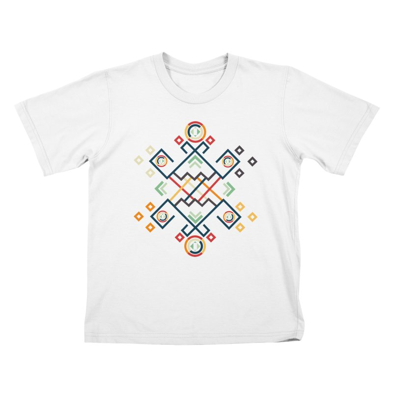Back to the Roots Kids T-Shirt by rouages's Artist Shop