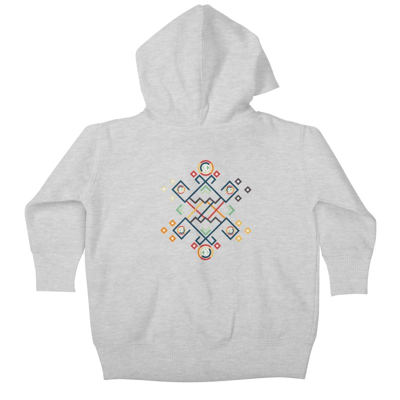 Back to the Roots Kids Baby Zip-Up Hoody by rouages's Artist Shop