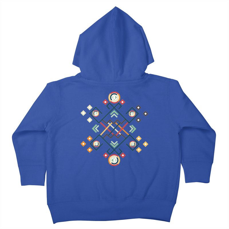 Back to the Roots Kids Toddler Zip-Up Hoody by rouages's Artist Shop