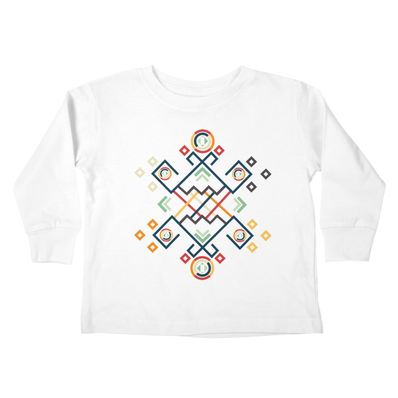 Back to the Roots Kids Toddler Longsleeve T-Shirt by rouages's Artist Shop