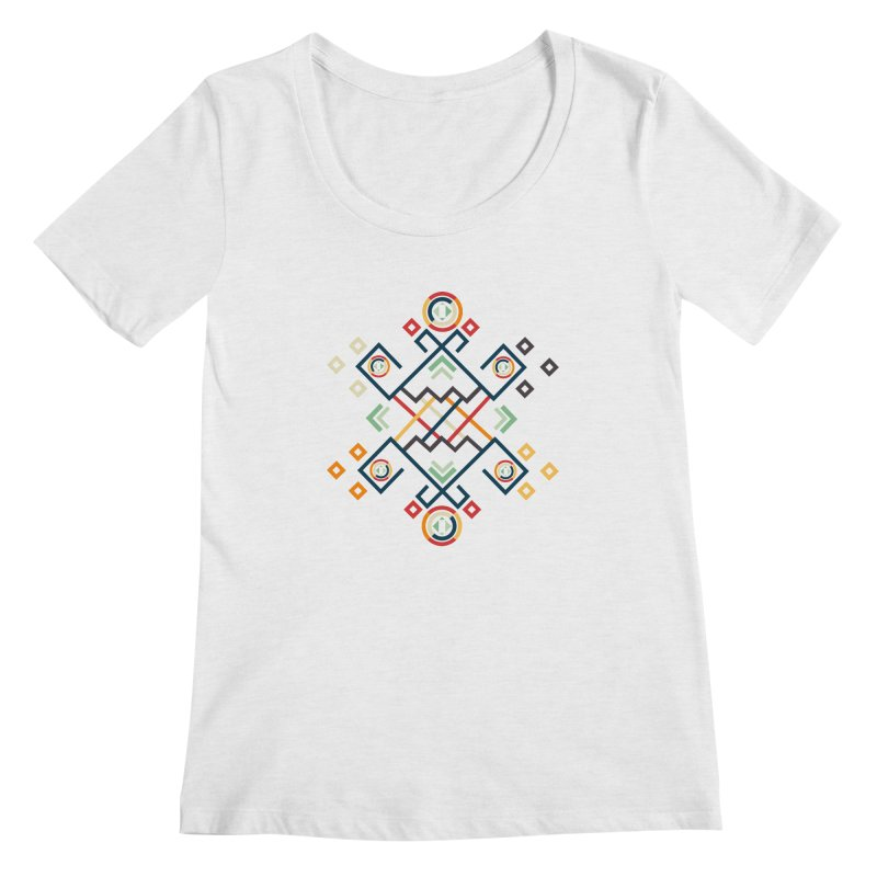 Back to the Roots Women's Regular Scoop Neck by rouages's Artist Shop