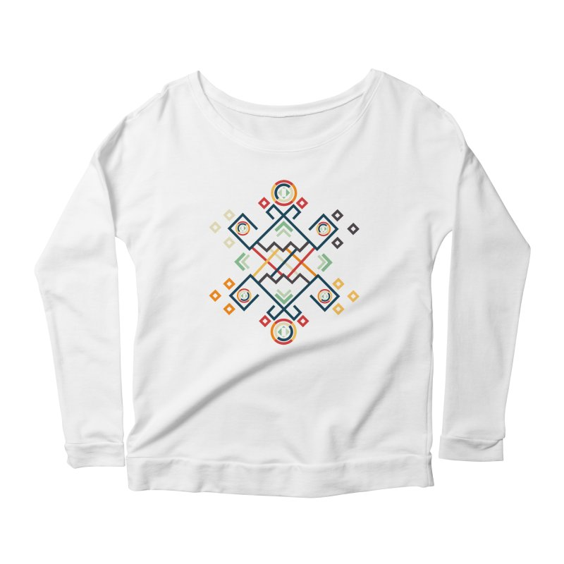 Back to the Roots Women's Scoop Neck Longsleeve T-Shirt by rouages's Artist Shop