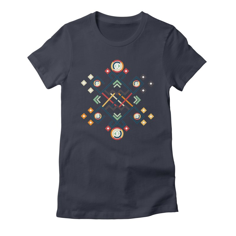 Back to the Roots Women's Fitted T-Shirt by rouages's Artist Shop