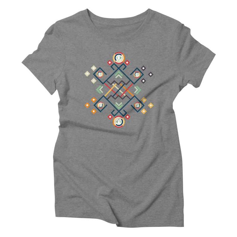 Back to the Roots Women's Triblend T-Shirt by rouages's Artist Shop