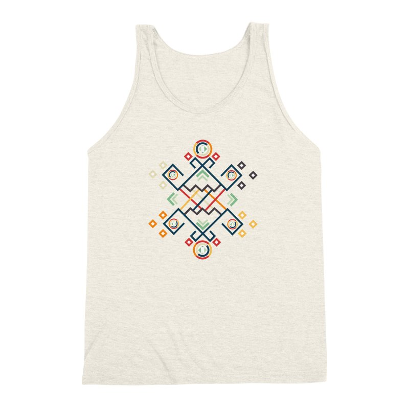 Back to the Roots Men's Triblend Tank by rouages's Artist Shop