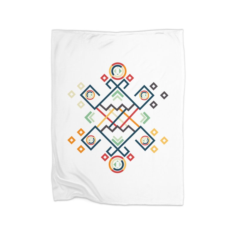 Back to the Roots Home Fleece Blanket Blanket by rouages's Artist Shop