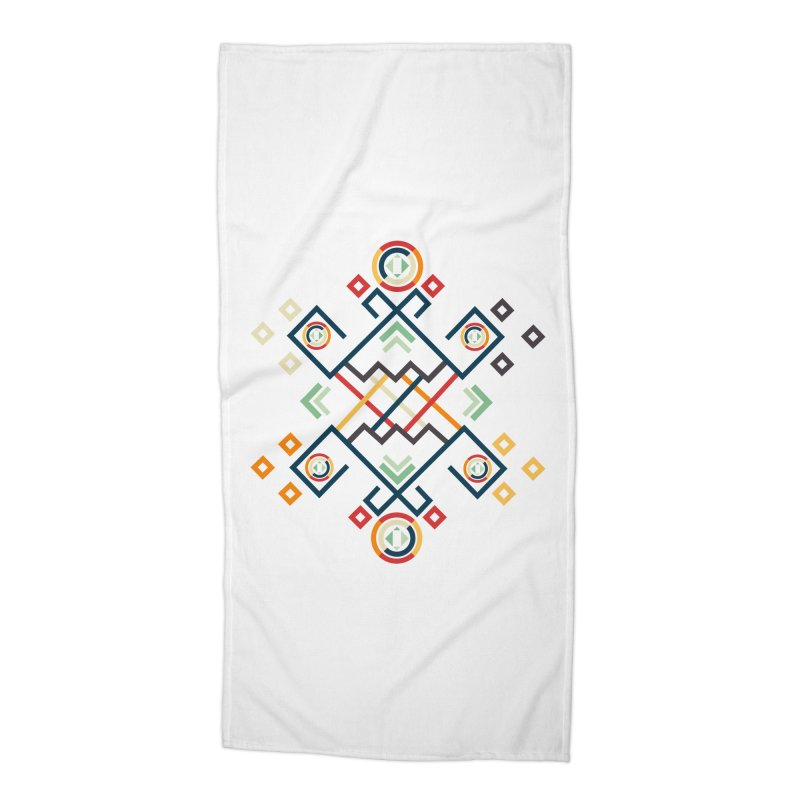 Back to the Roots Accessories Beach Towel by rouages's Artist Shop