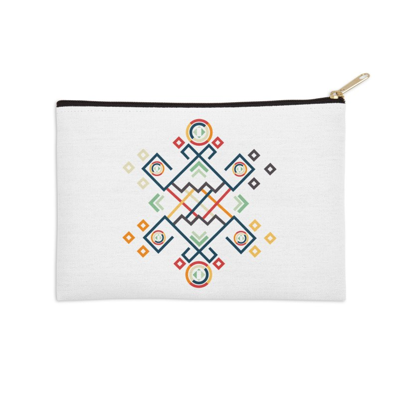 Back to the Roots Accessories Zip Pouch by rouages's Artist Shop