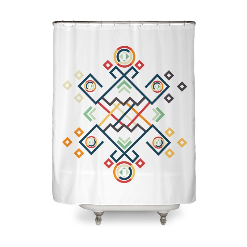 Back to the Roots Home Shower Curtain by rouages's Artist Shop