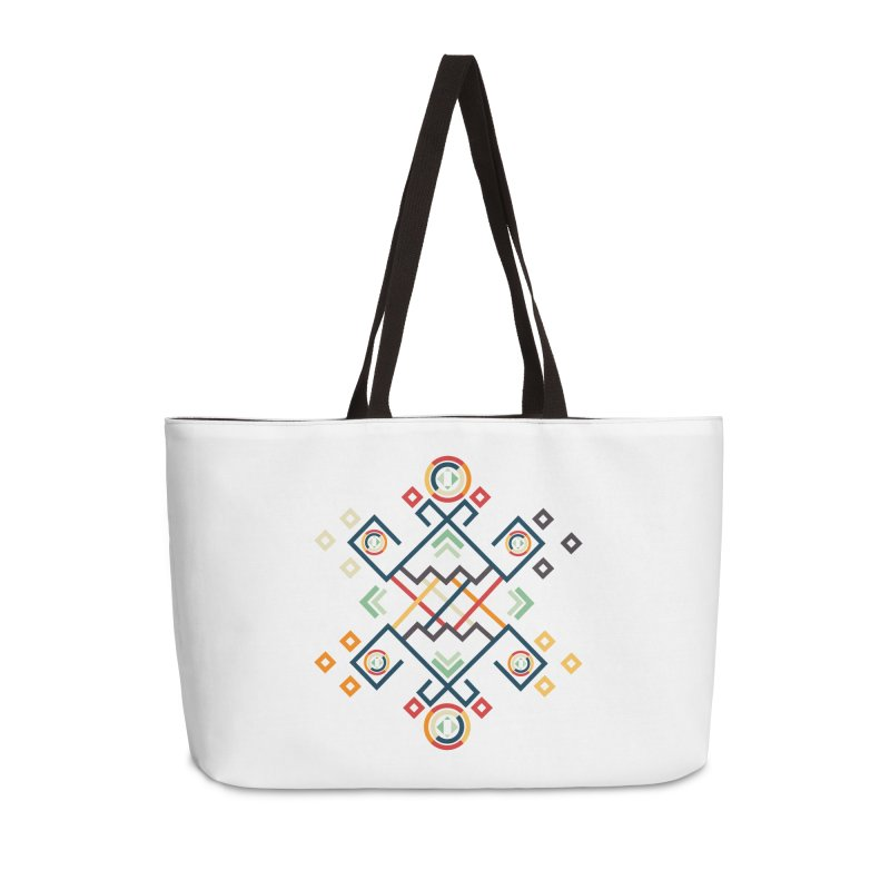 Back to the Roots Accessories Weekender Bag Bag by rouages's Artist Shop