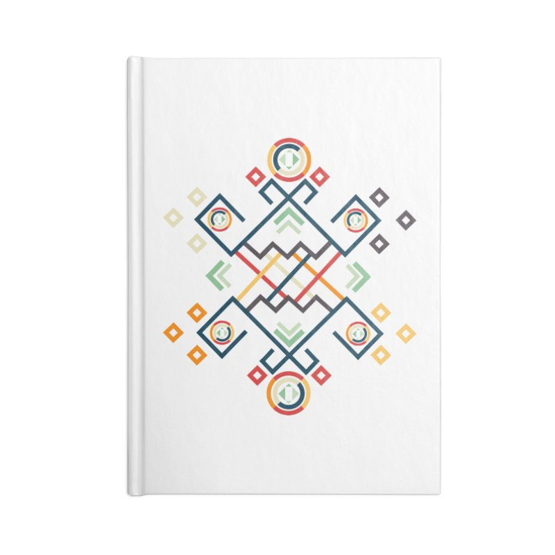 Back to the Roots Accessories Lined Journal Notebook by rouages's Artist Shop