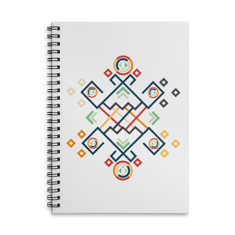 Back to the Roots Accessories Lined Spiral Notebook by rouages's Artist Shop