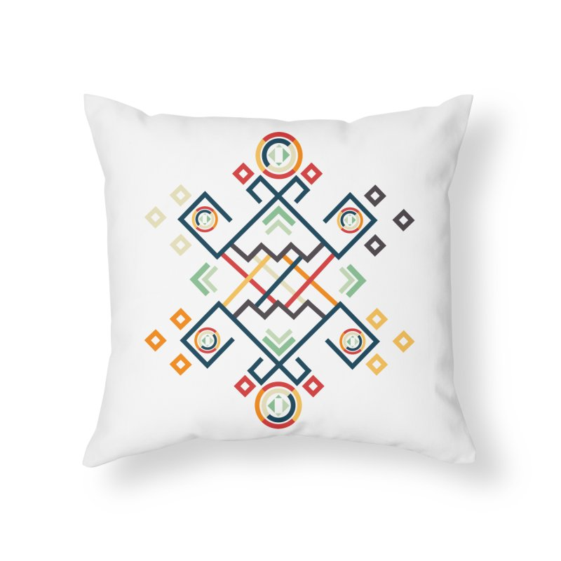 Back to the Roots Home Throw Pillow by rouages's Artist Shop