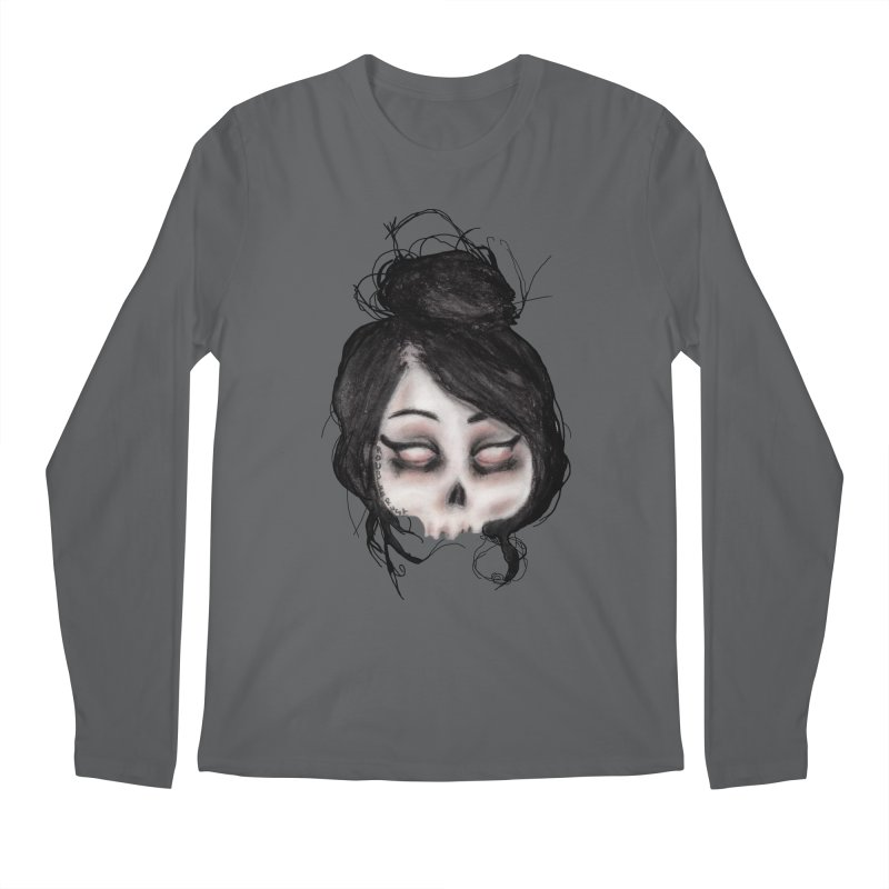 The inability to perceive with eyes notebook II Men's Longsleeve T-Shirt by roublerust's Artist Shop