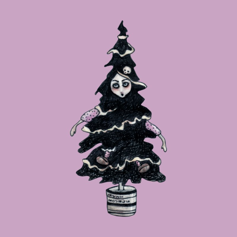Black Xmas Tree   by roublerust's Artist Shop