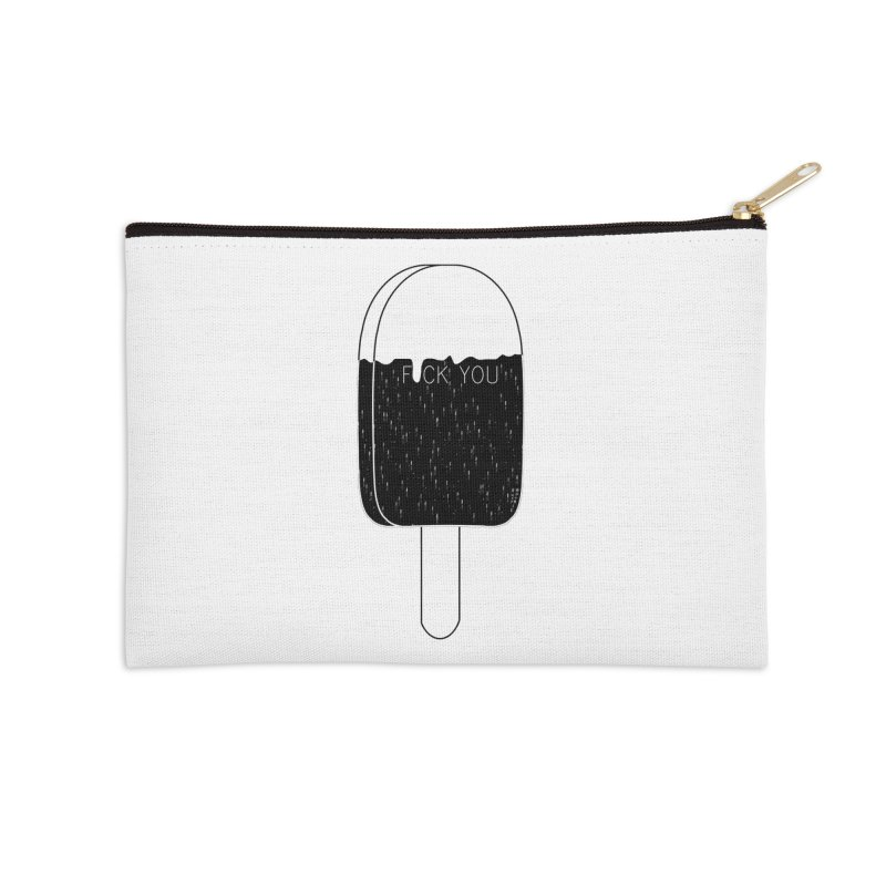 Gothic In The Summertime Accessories Zip Pouch by roublerust's Artist Shop