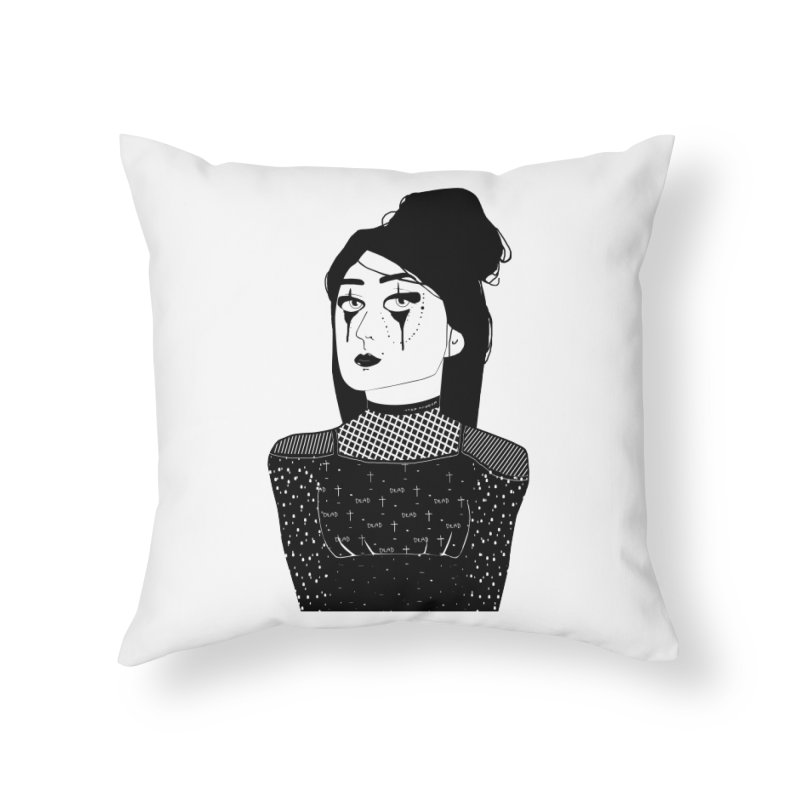 And all I loved, I loved alone. Home Throw Pillow by roublerust's Artist Shop