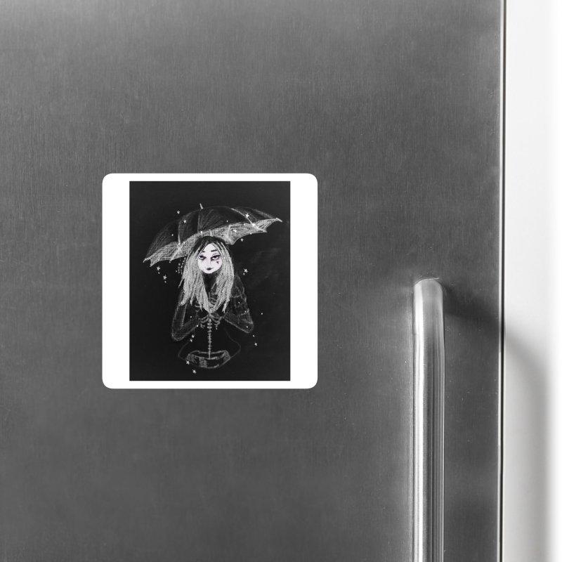 When it's dark look for stars Accessories Magnet by roublerust's Artist Shop