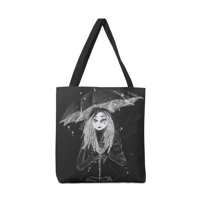 When it's dark look for stars Accessories Bag by roublerust's Artist Shop