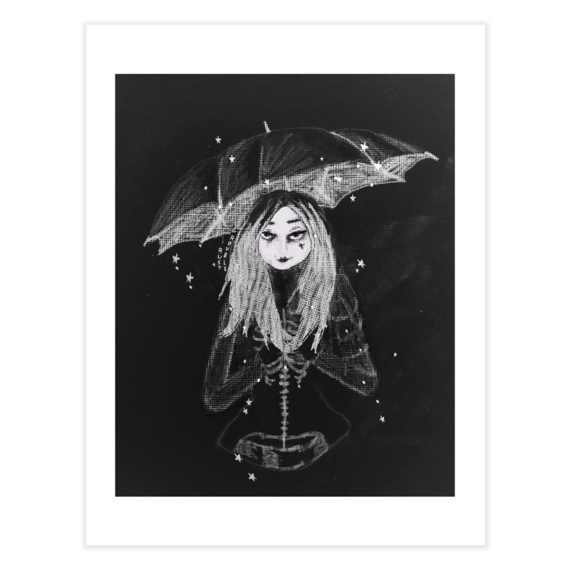 When it's dark look for stars Home Fine Art Print by roublerust's Artist Shop