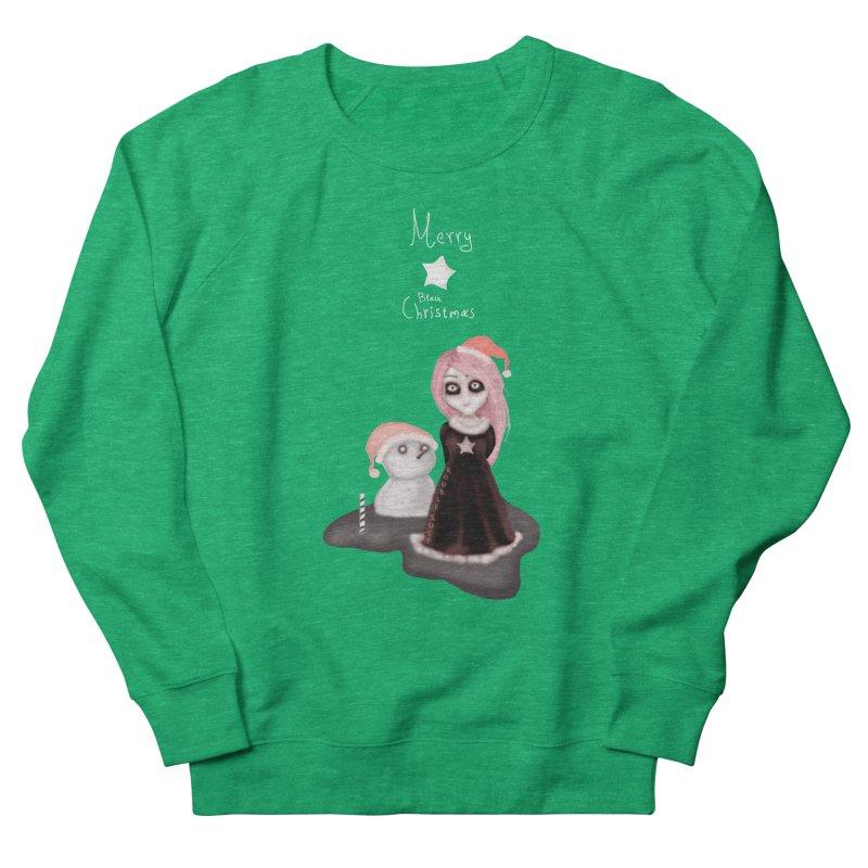 Black Xmas: A Merry Gothic Christmas Women's Sweatshirt by roublerust's Artist Shop