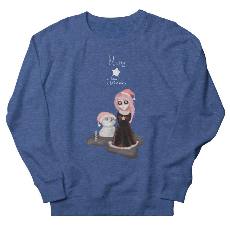 Black Xmas: A Merry Gothic Christmas Men's Sweatshirt by roublerust's Artist Shop