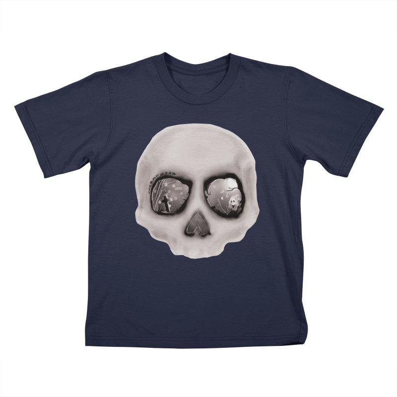 sleeping less every night Kids T-Shirt by roublerust's Artist Shop