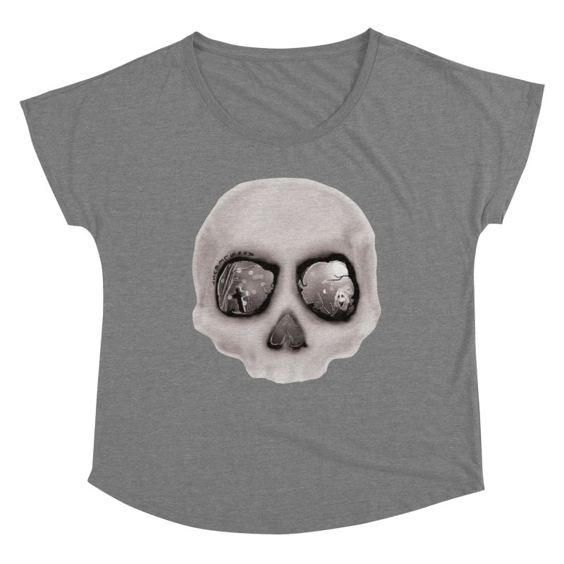 sleeping less every night Women's Scoop Neck by roublerust's Artist Shop