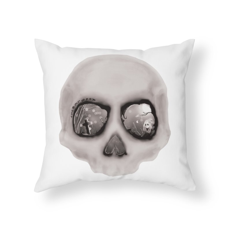 sleeping less every night Home Throw Pillow by roublerust's Artist Shop