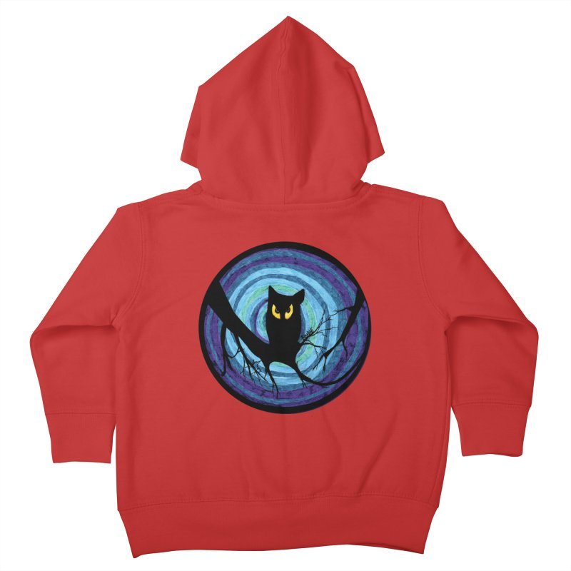 time for child stories: the EVIL OWL Kids Toddler Zip-Up Hoody by roublerust's Artist Shop