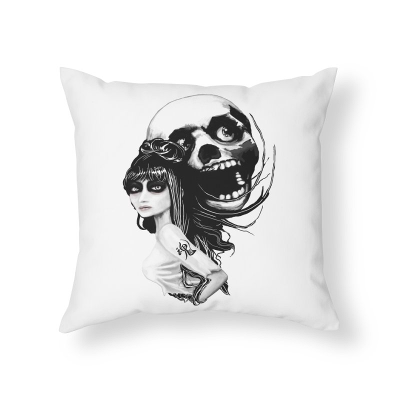 SoulMates Home Throw Pillow by roublerust's Artist Shop