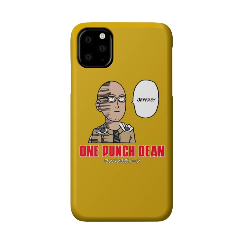 One Punch Dean  [Rx] Accessories Phone Case by Roufxis Store