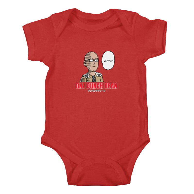 One Punch Dean  [Rx] Kids Baby Bodysuit by Roufxis Store