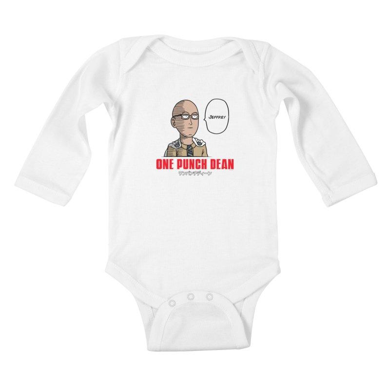 One Punch Dean  [Rx] Kids Baby Longsleeve Bodysuit by Roufxis Store