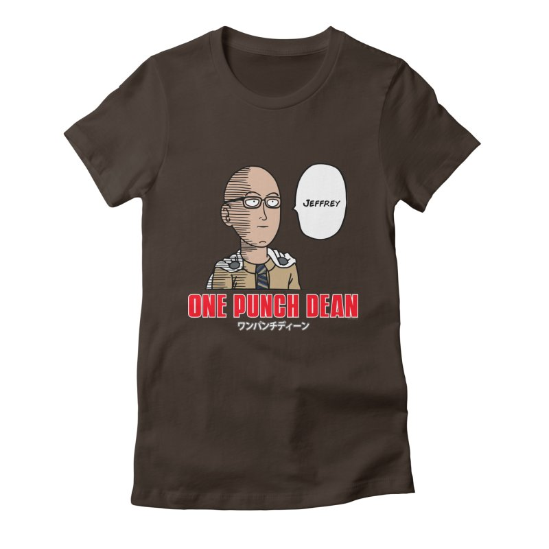 One Punch Dean  [Rx] Women's Fitted T-Shirt by Roufxis Store