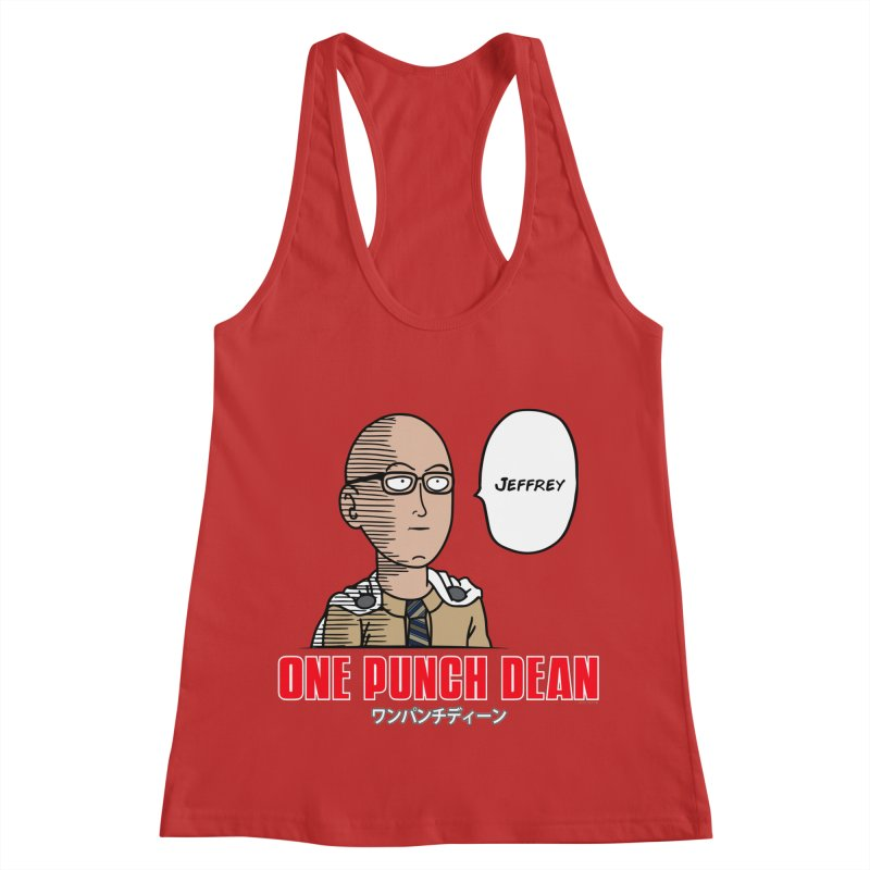 One Punch Dean  [Rx] Women's Racerback Tank by Roufxis Store