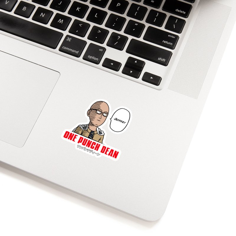 One Punch Dean  [Rx] Accessories Sticker by Roufxis Store