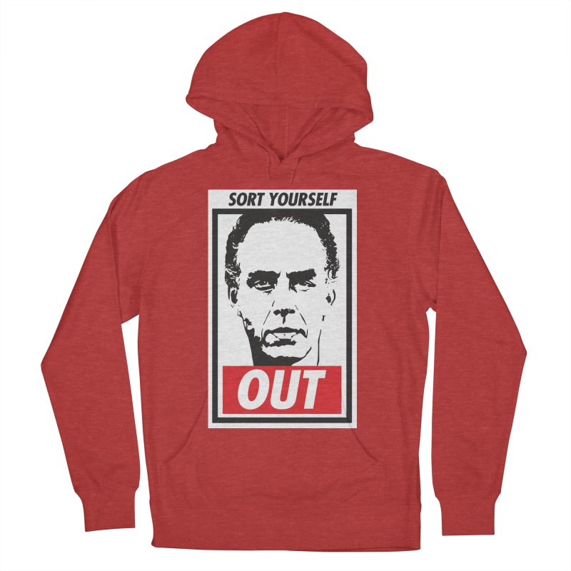Sort Yourself Out Women's Pullover Hoody by Shirts of Meaning