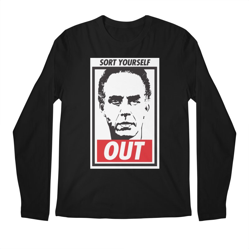 Sort Yourself Out Men's Longsleeve T-Shirt by Shirts of Meaning